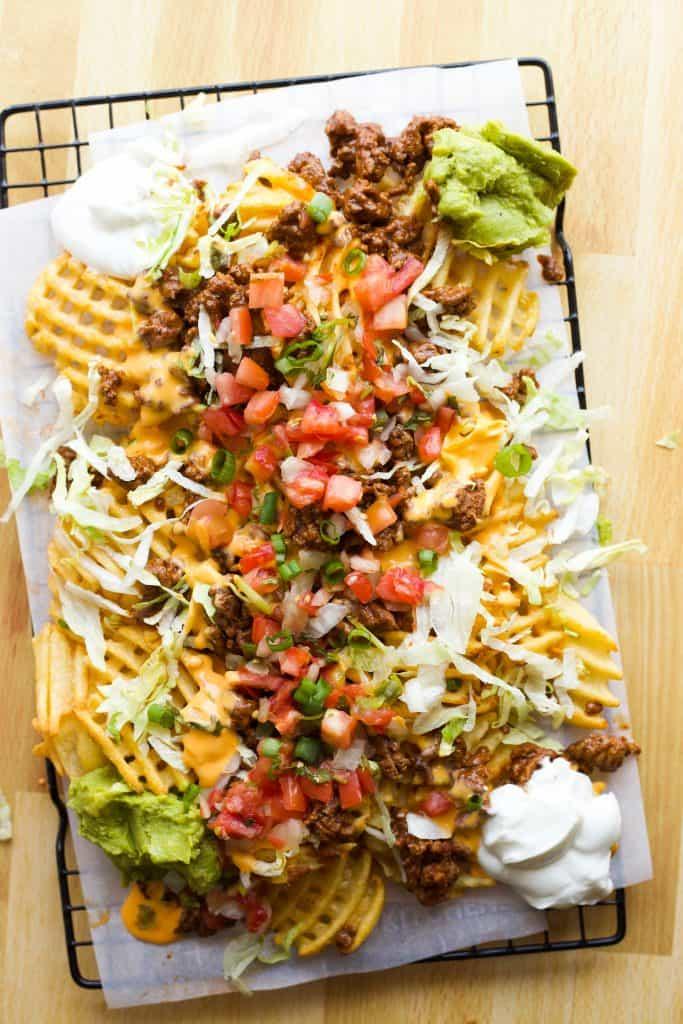 Easy Taco Fries