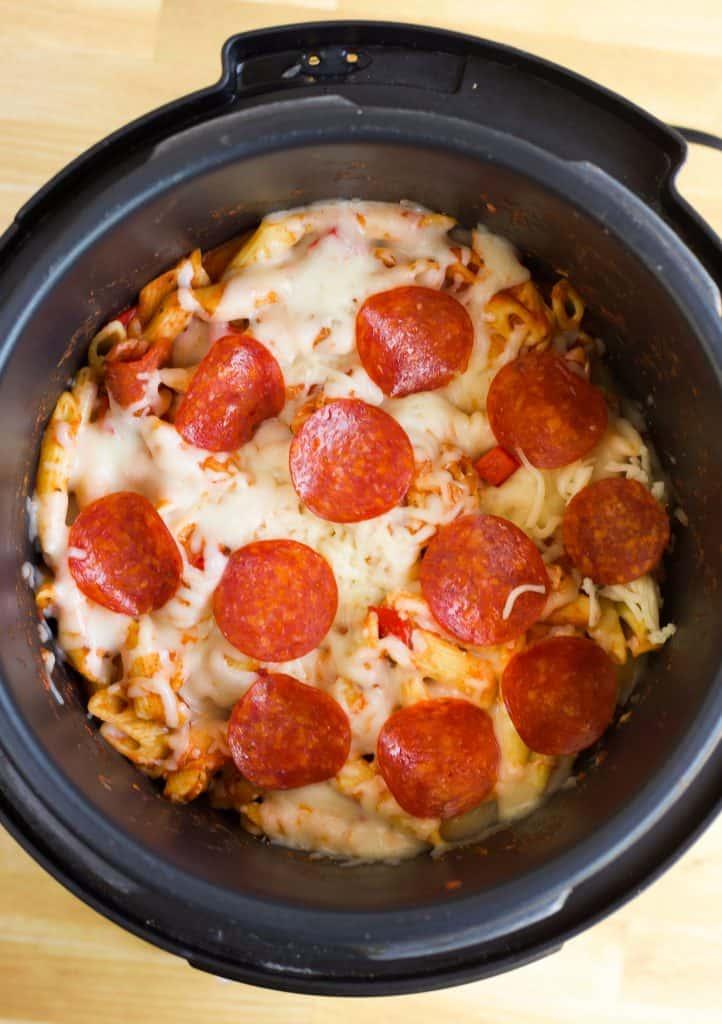Pressure Cooker Pizza Pasta