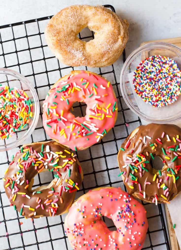 Air Fryer Biscuit Donuts